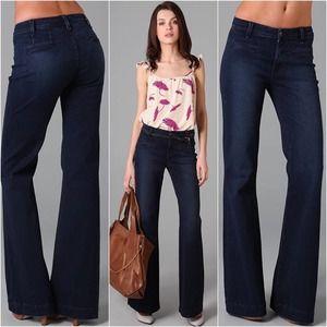 Rich & Skinny Sugar Mid-Rise Flare wide Leg Jeans